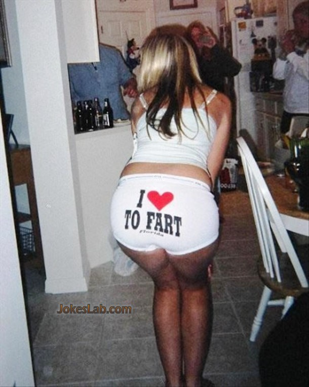 funny girl, I love to fart, shit slogan
