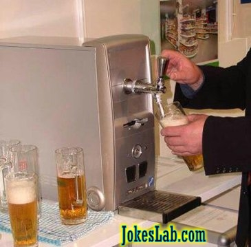 beer machine for it gurus and nerds