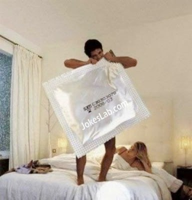funny plus size condom, not for everyone