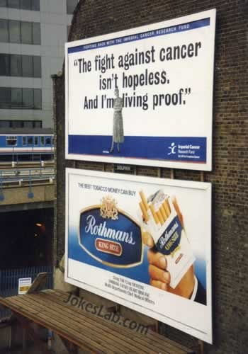 failed tobacco advertisement