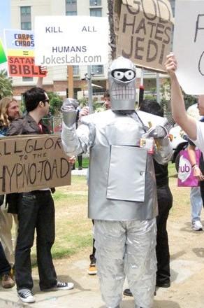 funny slogan, kill all humans