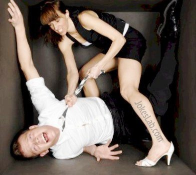 funny picture, wife beating husband, hooker is better than wife