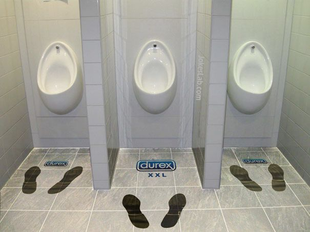 funny condom ads, Durex xxx, extra long penis