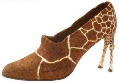funny giraffe shoes for girls with short legs