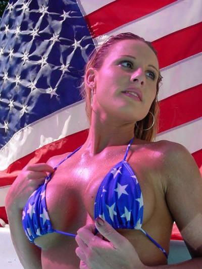 american-flag-model-bikini