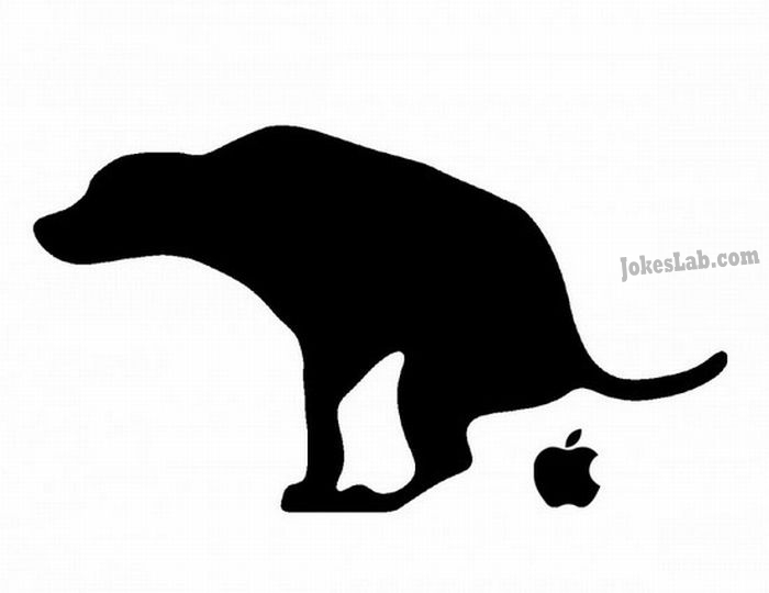 funny picture: why i don't like apple