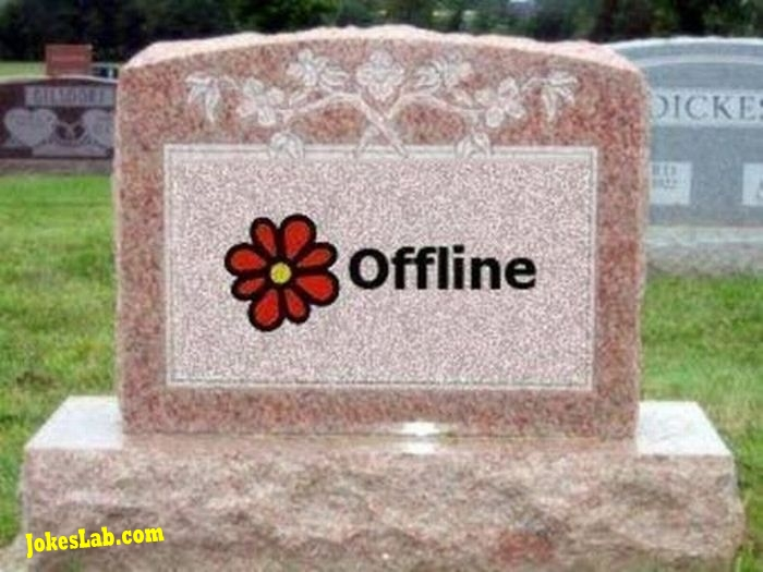 funny picture, offline finally