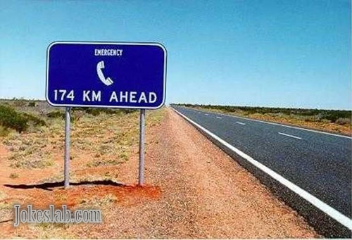 funny road signs that can only found in Australia