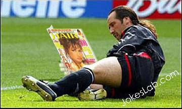 how to become the best football player, relax by reading adult magazine
