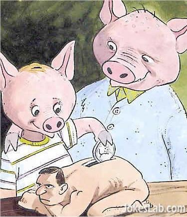 dreams of pigs, man-y bank