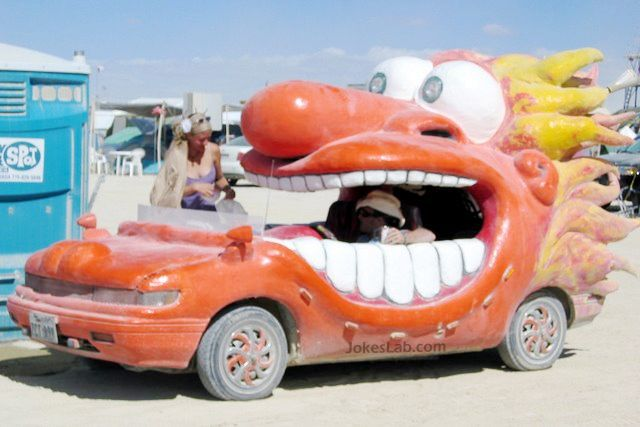 funny dragon car, not made in China