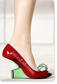 funny high heel without heels
