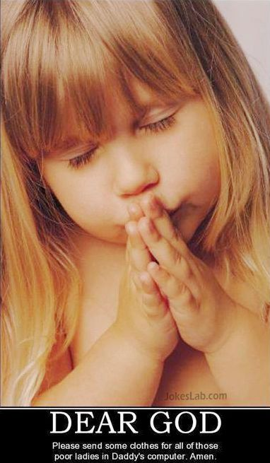 funny girl praying clothes for girls in daddy