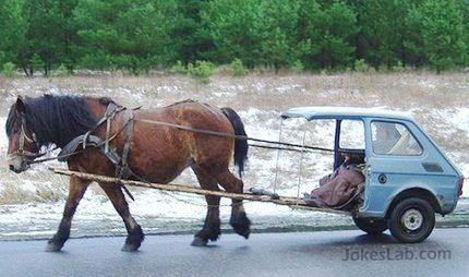 funny zero emission car for Al Gore
