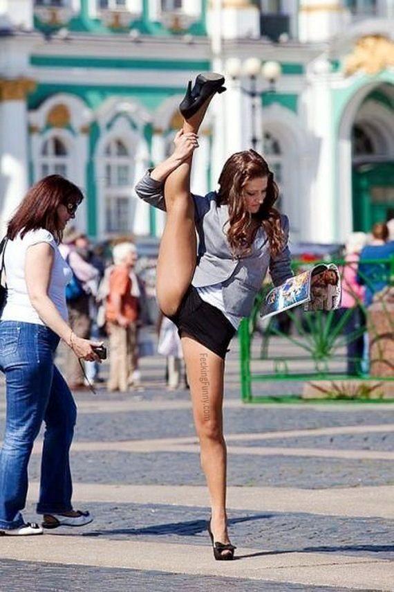 пикантные фото женщин на улицах городов мог, задумываясь правильности