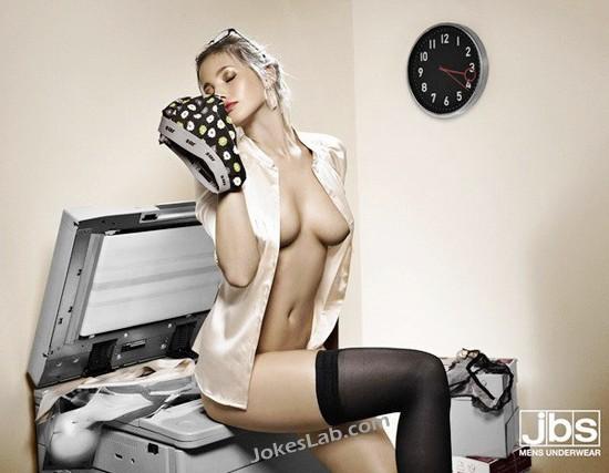 woman enjoying mens-underwear